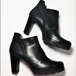 Paul Green• Moto Boot Obermat Echt Leder• US 10